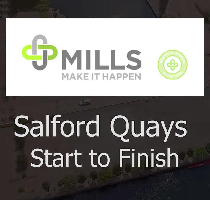 Salford Quays Start to Finish